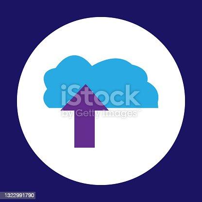 istock Cloud Storage Icon 1322991790