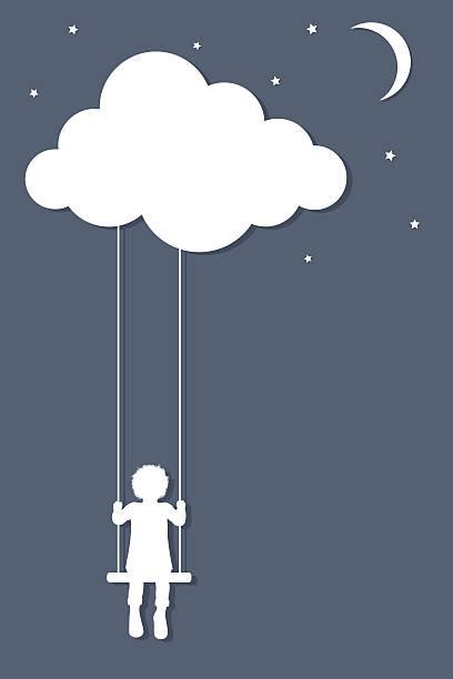 ilustrações de stock, clip art, desenhos animados e ícones de nuvem viral. - balouço