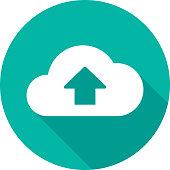 istock Cloud Upload Icon Silhouette 2 949762166
