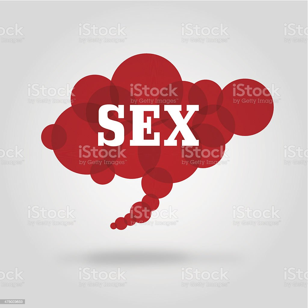 Cloud_sex vector art illustration