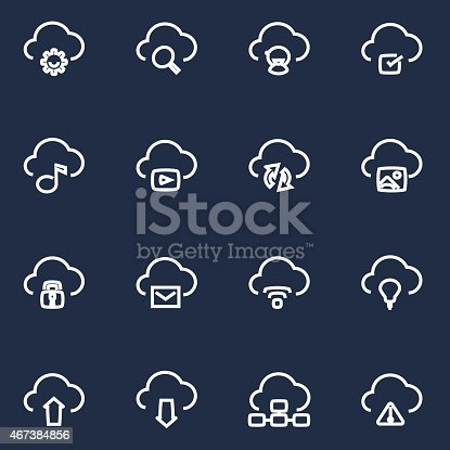 Vector File of Clouding Icon