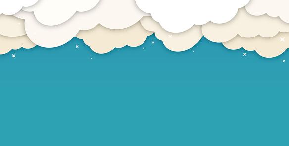 Clouds Cloudscape Background