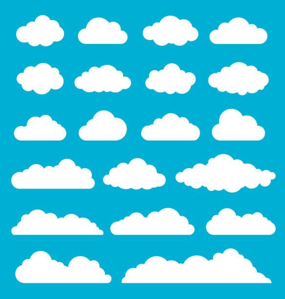 雲集 - clouds 幅插畫檔、美工圖案、卡通及圖標