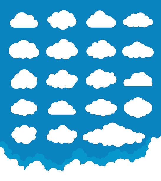 클라우드 설정 - 구름 stock illustrations