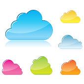 Clouds symbols