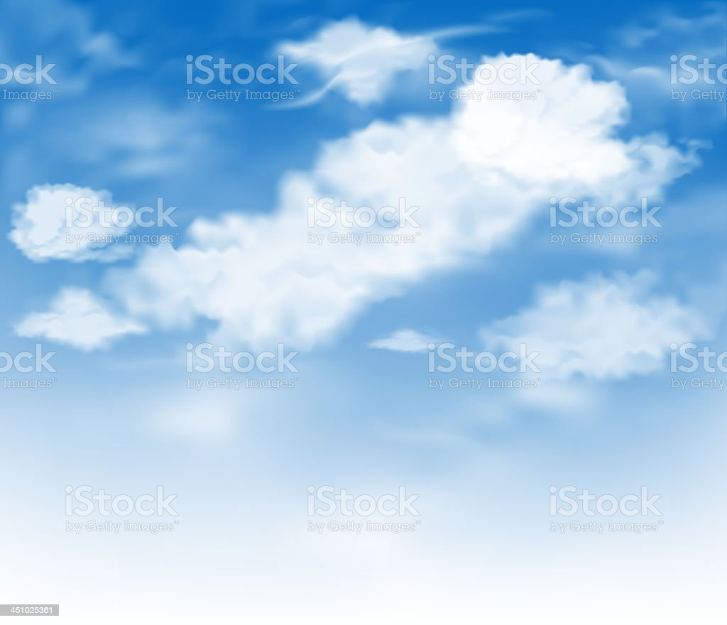 clouds royalty-free clouds stock vector art & more images of backdrop
