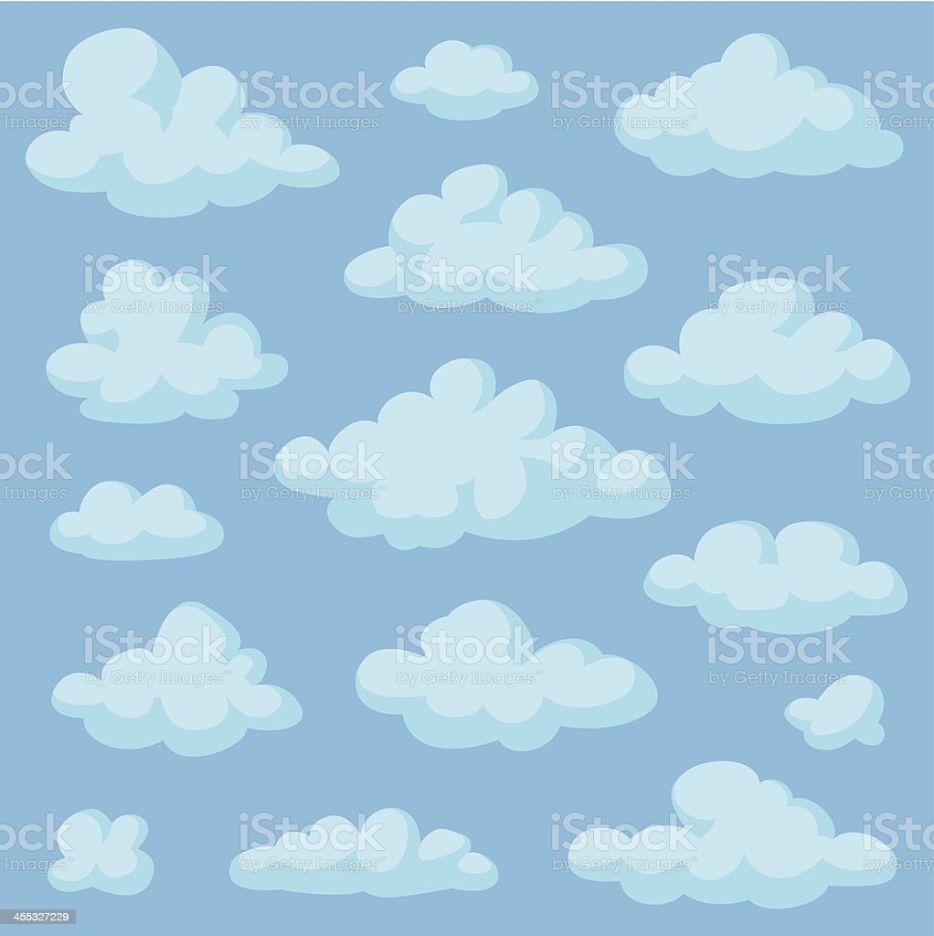 Clouds royalty-free clouds stock vector art & more images of cartoon