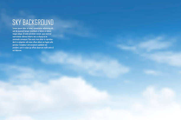clouds - skies stock illustrations, clip art, cartoons, & icons
