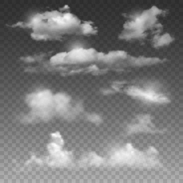 clouds - clouds stock illustrations, clip art, cartoons, & icons