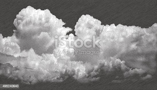 istock Cloudscape, Approaching Storm 495240640