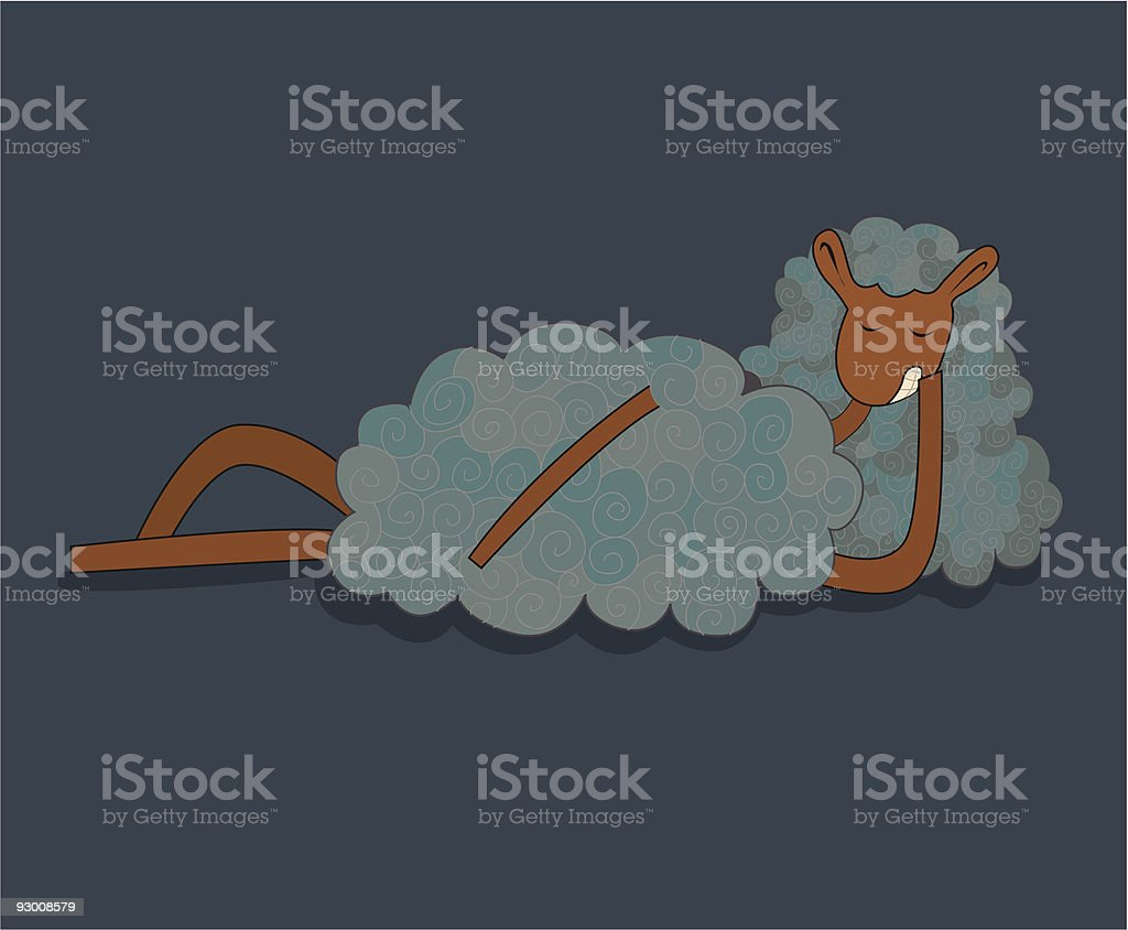 Cloudy Lamb Stock Vector Art More Images Of Animal 93008579 Istock