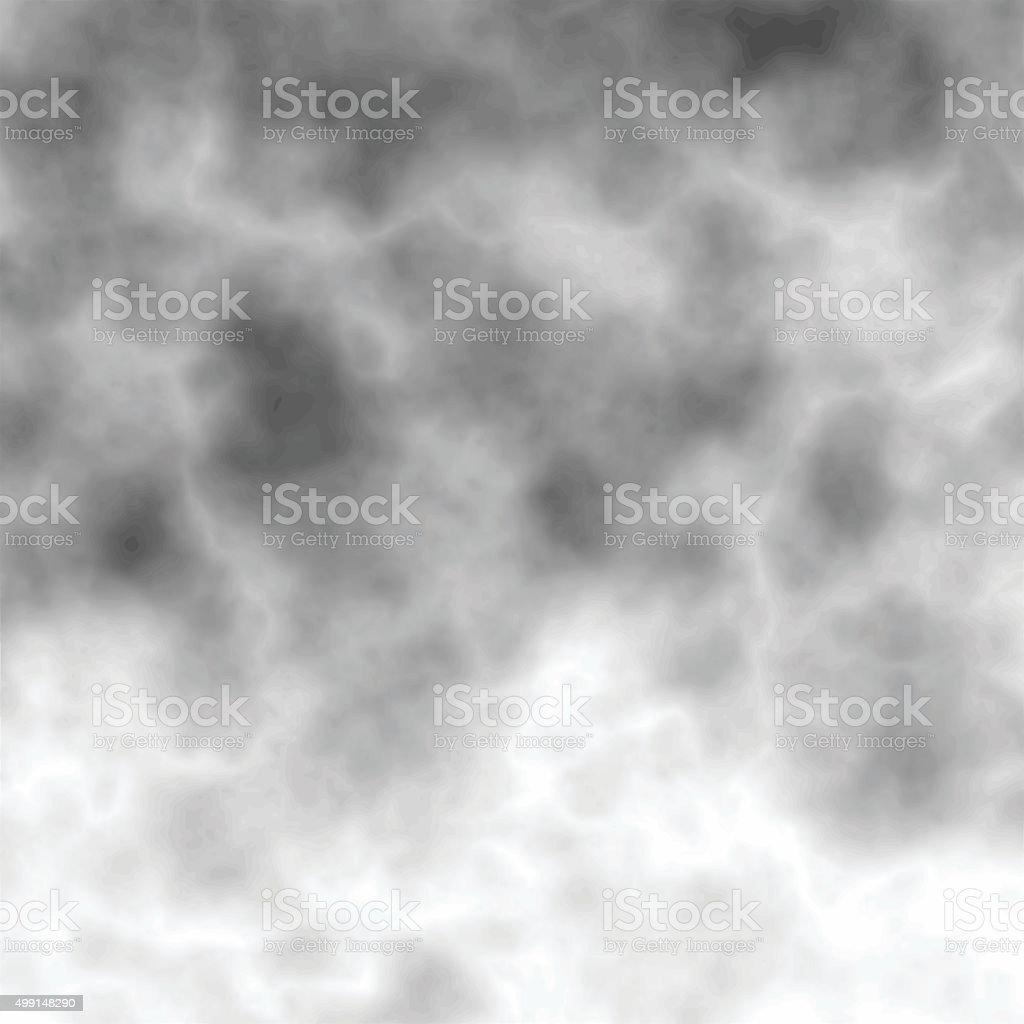 Cloudy sky vector art illustration