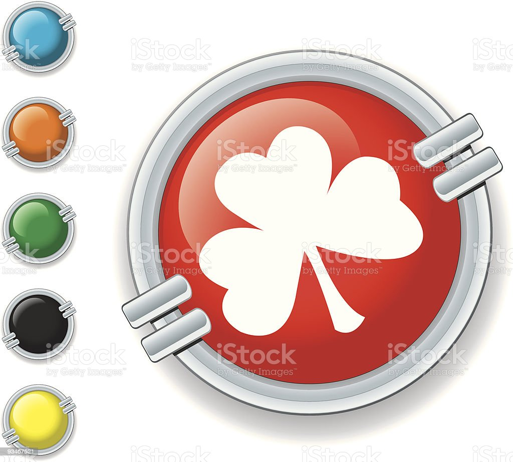 Clover Icon royalty-free clover icon stock vector art & more images of black color