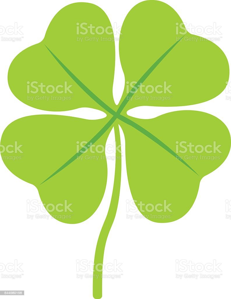 Clover illustration icon vector vector art illustration