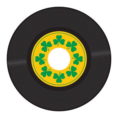 Clover Leaf 45 RPM Record