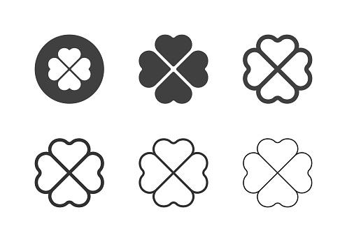 Clover Leaf Icons - Multi Series