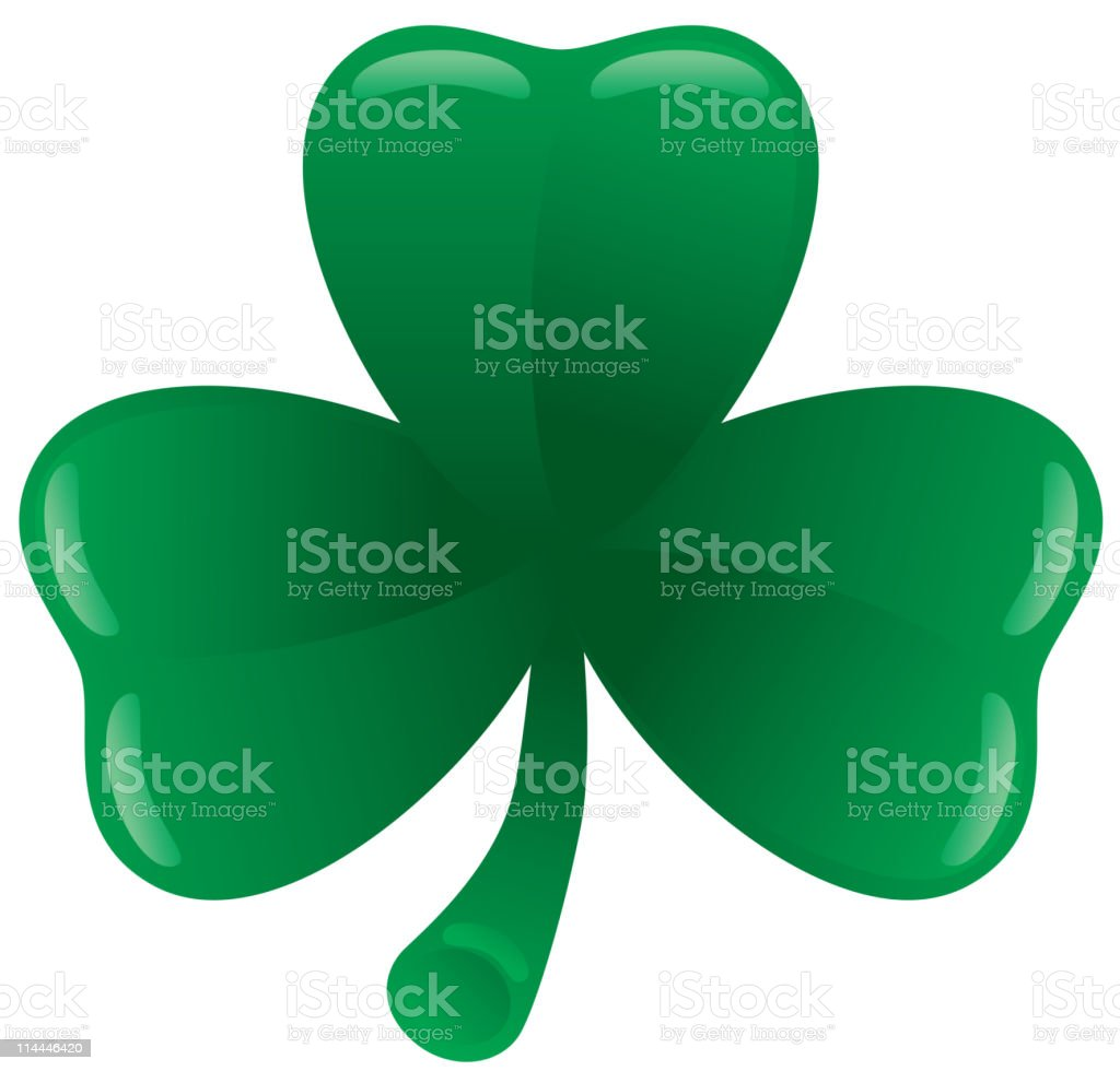Clover leaf royalty-free stock vector art