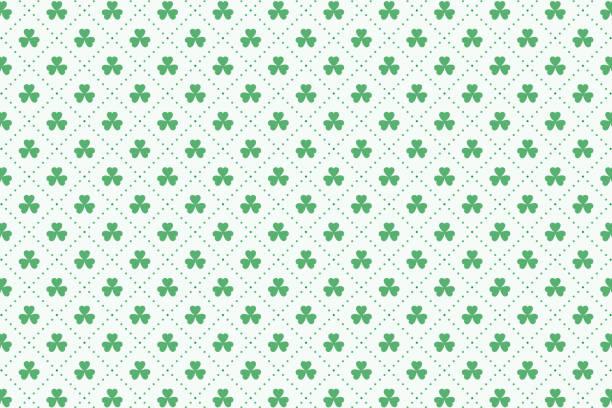 clover leaves pattern for st patricks day clover leaves pattern for st patricks day st patricks day stock illustrations