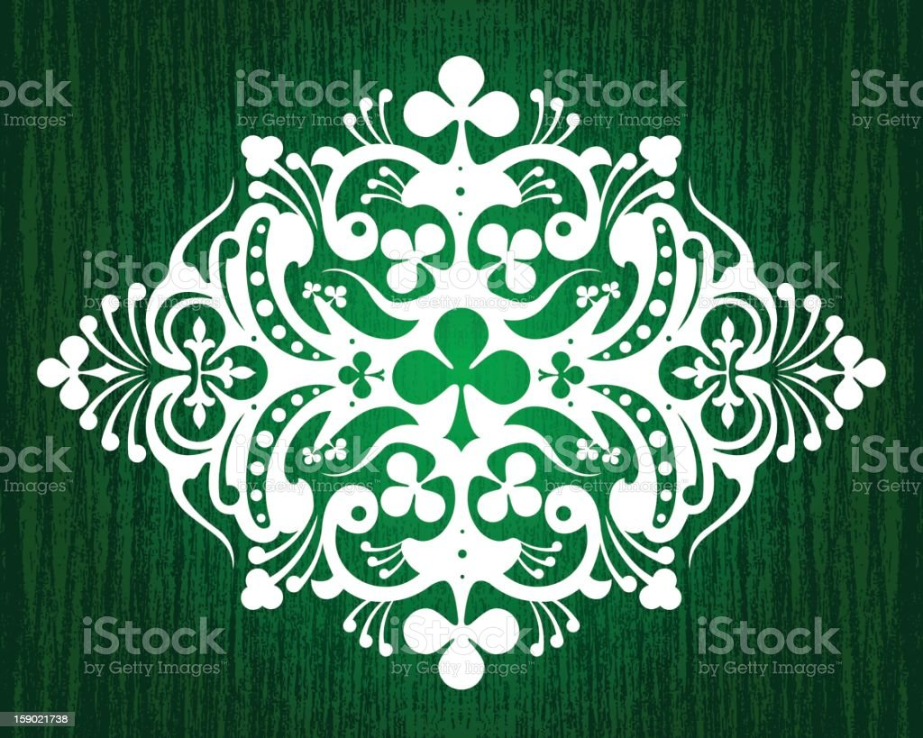 Clover Pattern royalty-free clover pattern stock vector art & more images of abstract