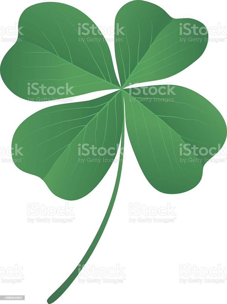 clover quatrefoil vector art illustration