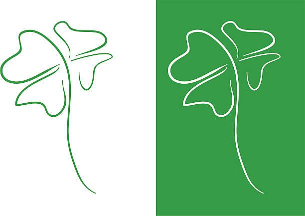 ilustrações, clipart, desenhos animados e ícones de trevo - boa sorte