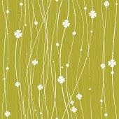 Vector seamless clover pattern.