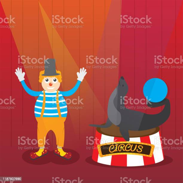 Clown and seal with ball vector id1187407690?b=1&k=6&m=1187407690&s=612x612&h=1lsenu2qseui4jedajaohtjmf4hntyazgiwv kp1c20=