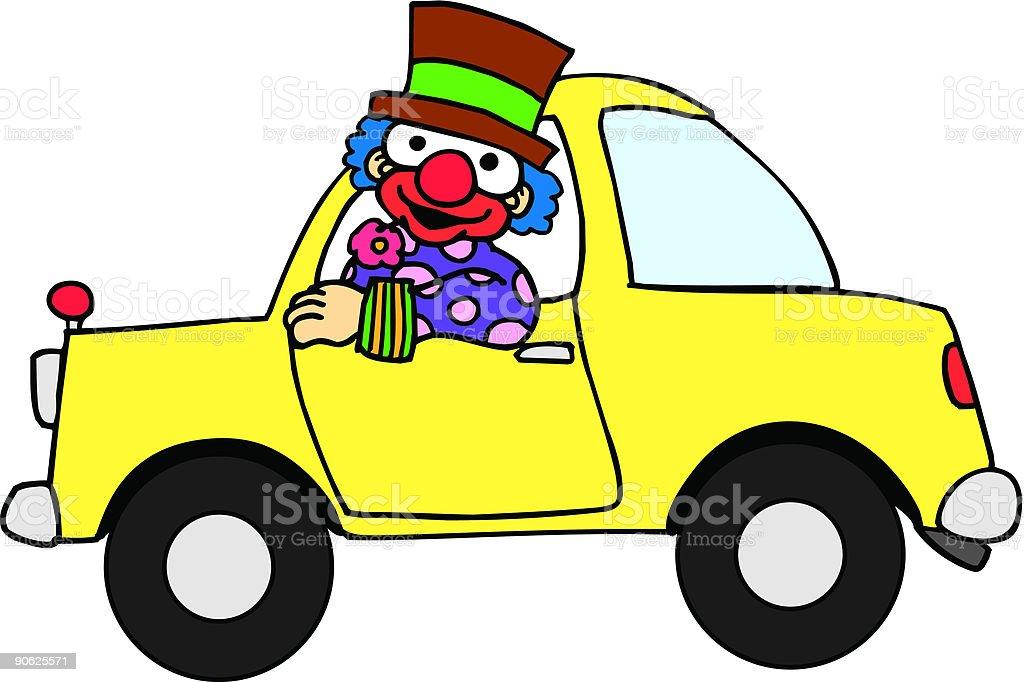 Clown Car Vector Id