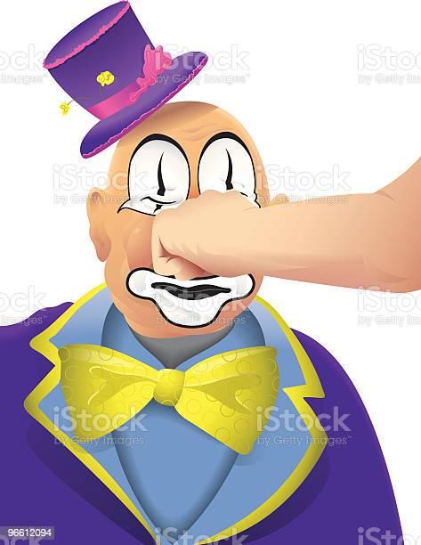 Clown Face-vektorgrafik och fler bilder på Ansiktsmålning