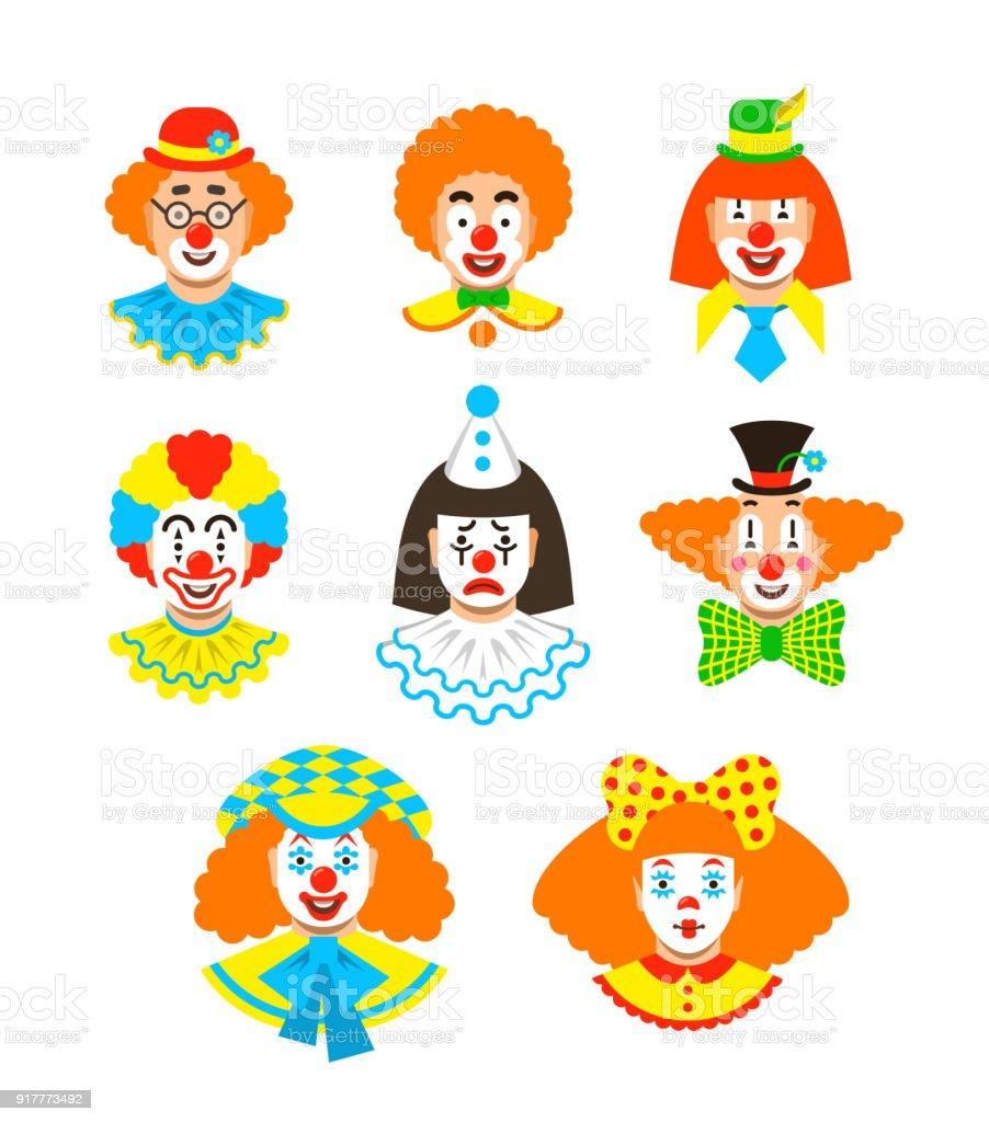 clown gesicht vorlage