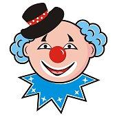 Clown, portrait