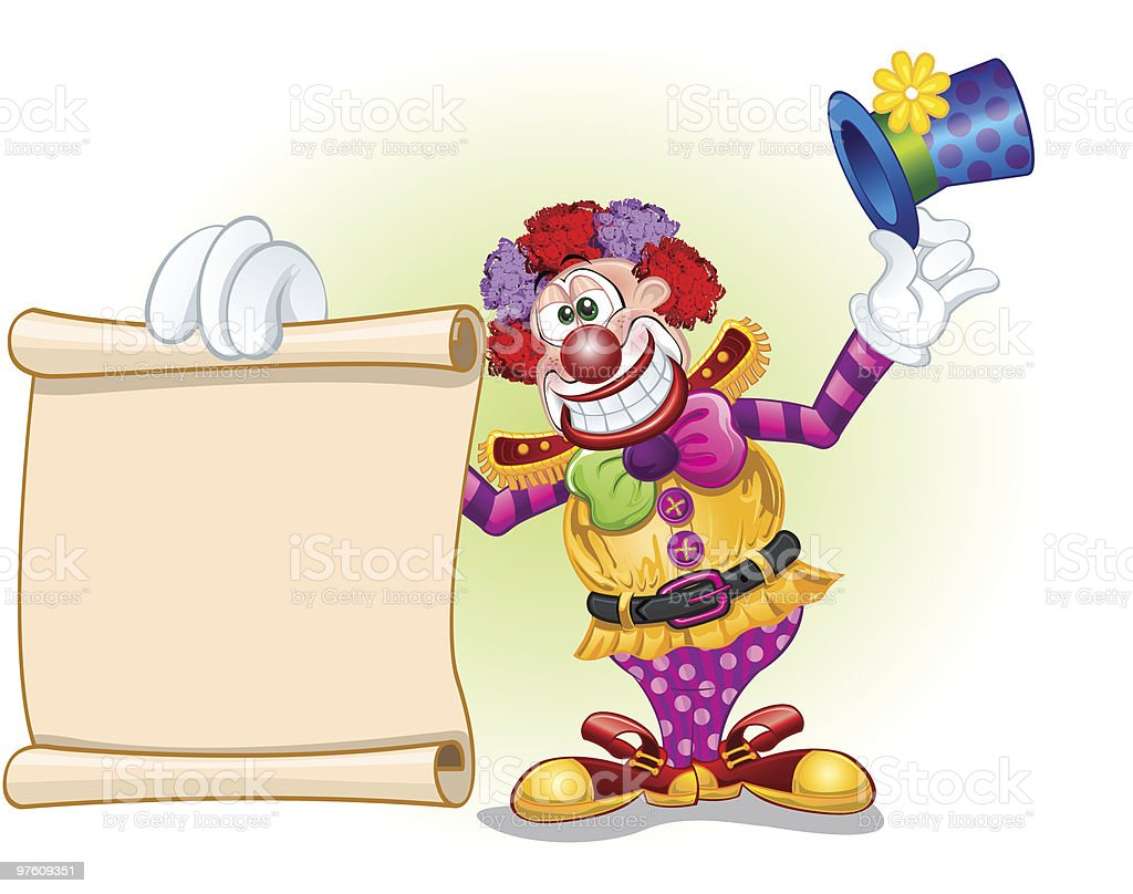 Clown Vector - Circus Icons - Vector Illustration royalty-free clown vector circus icons vector illustration stock vector art & more images of belt
