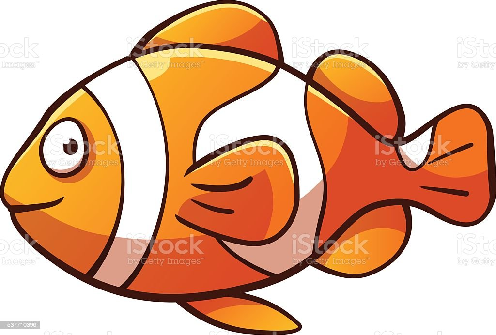 royalty free clown fish clip art vector images illustrations rh istockphoto com clown fish pictures clip art clown fish pictures clip art