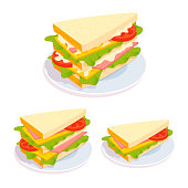 Sandwich black icon on white background