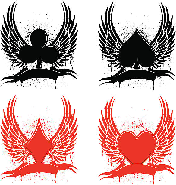 Los tatuajes club - ilustración de arte vectorial