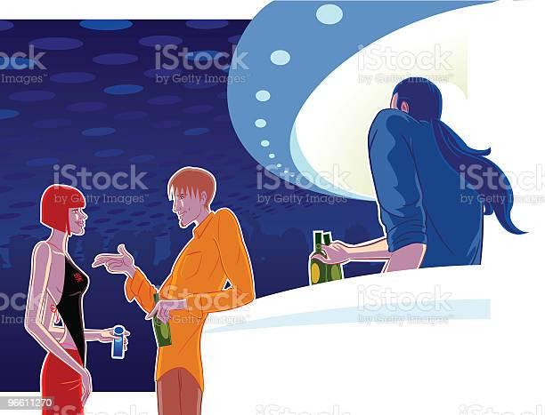 Clubbing-vektorgrafik och fler bilder på Bardisk