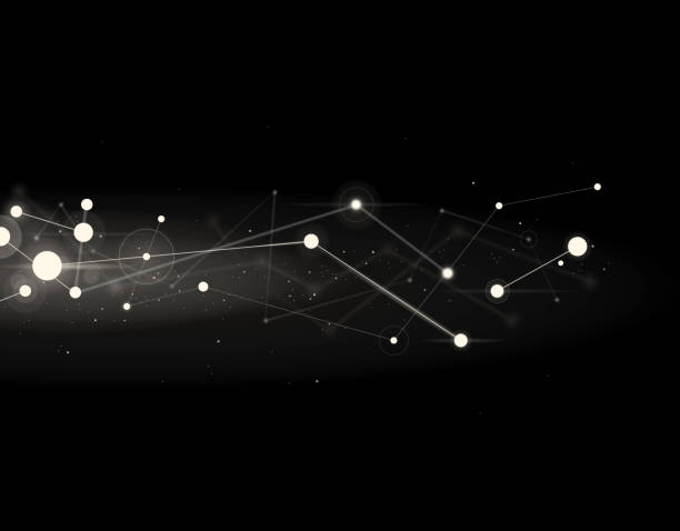 ilustrações de stock, clip art, desenhos animados e ícones de cluster - constelação
