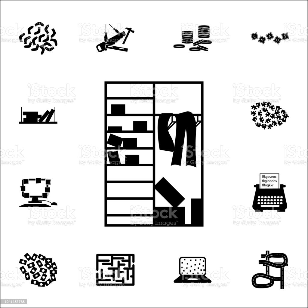 royalty free messy closet clip art  vector images  u0026 illustrations
