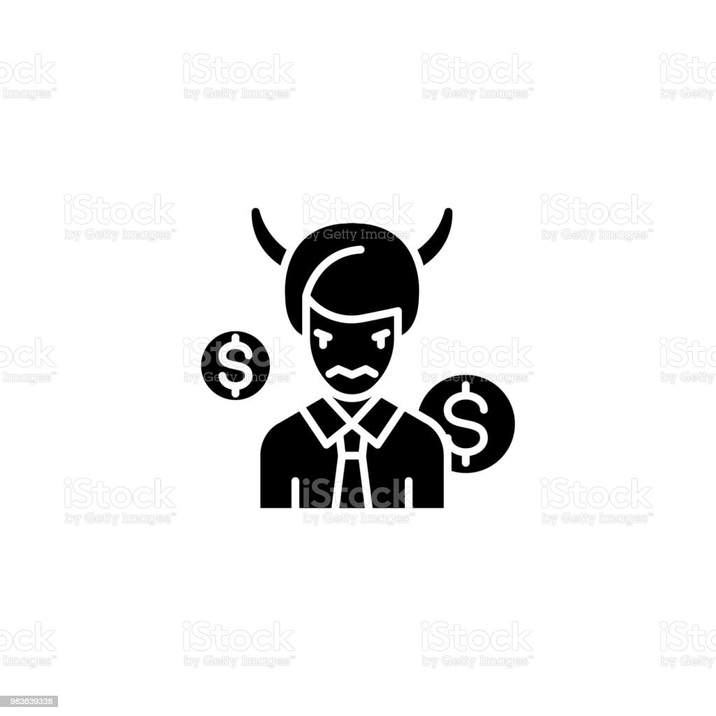 Coach Black Icon Concept Coach Flat Vector Symbol Sign Illustration