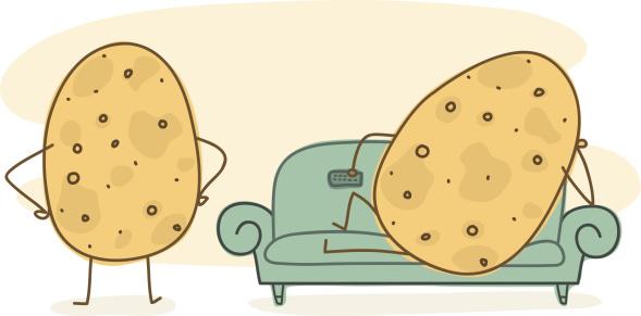 Coach Potato - Doodle