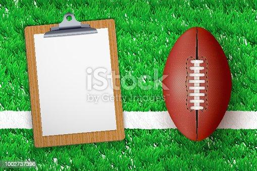 istock Coaching blank clipboard 1002737396