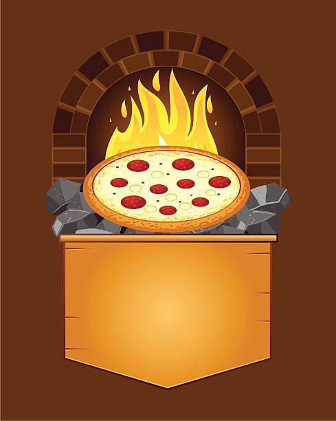 ilustrações de stock, clip art, desenhos animados e ícones de carvão à pizza - burned cooking