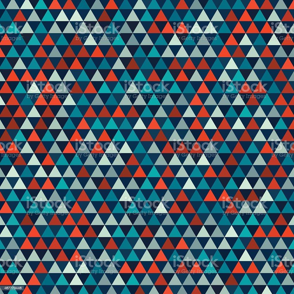 Ilustración de Patrón De Triángulo Equilátero Costa y más banco de ...