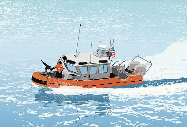Best Us Coast Guard Illustrations Royalty Free Vector