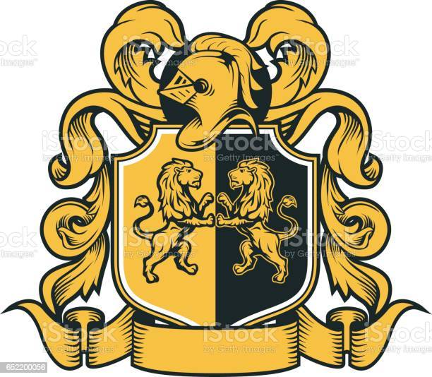 Coat Of Arms Lion Free Vector Art 56 Free Downloads