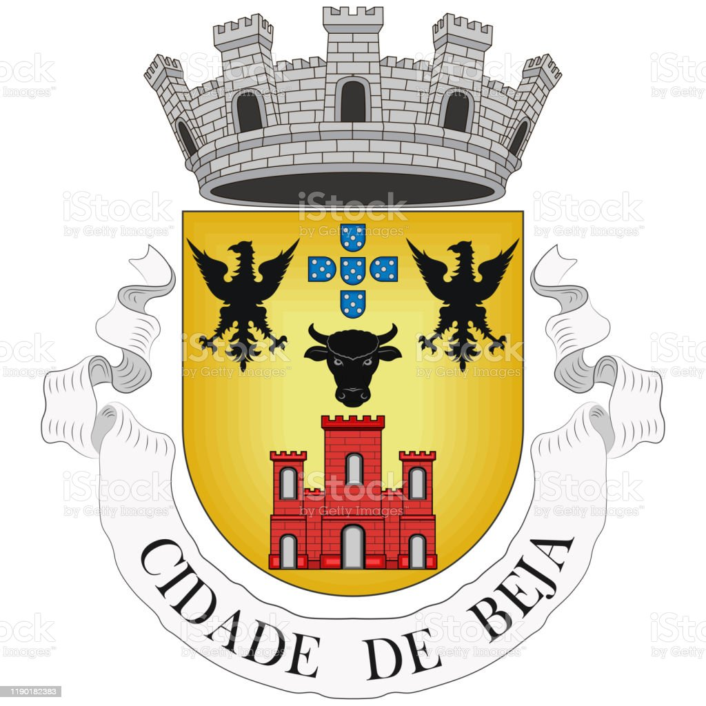 Coat Of Arms Of Beja District In Portugal Stock Illustration Download Image Now Istock