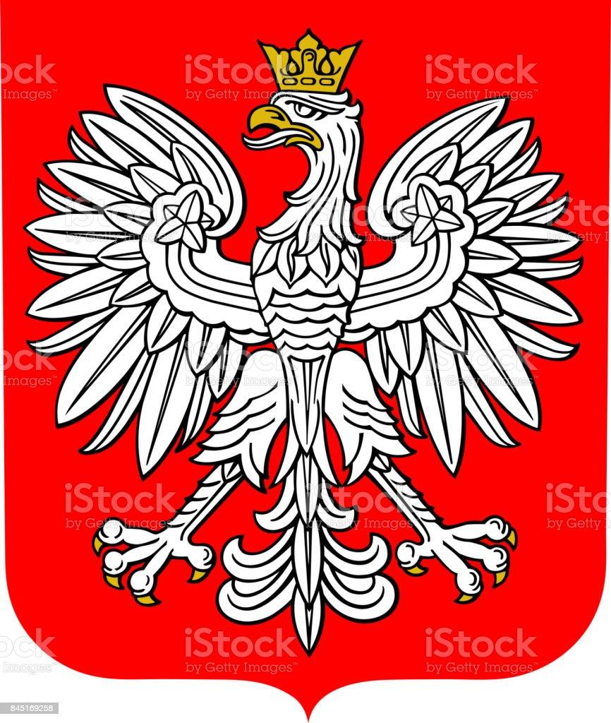 Wappen von Polen – Vektorgrafik