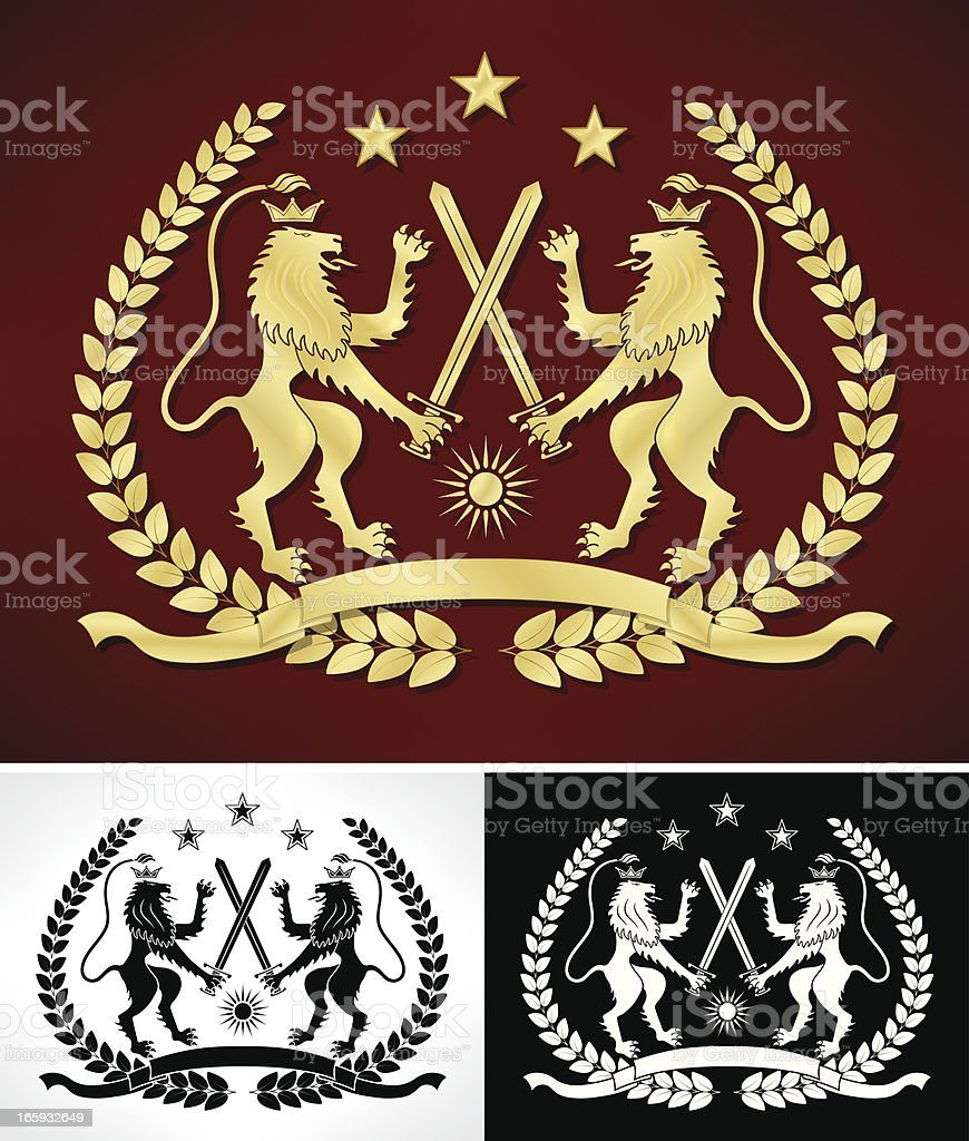 Coat of Arms royalty-free stock vector art