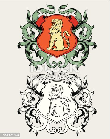 istock Coat of arms 455424895