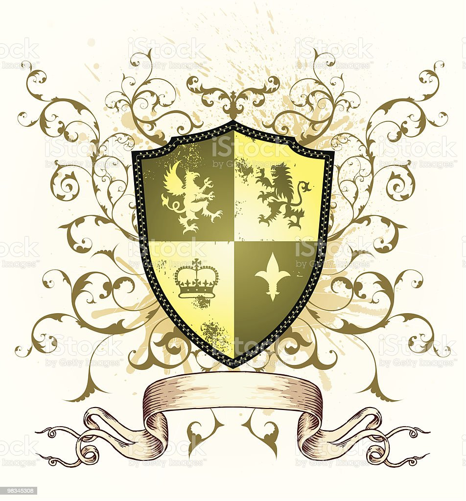 Coat Of Arms royalty-free coat of arms stock vector art & more images of animal representation